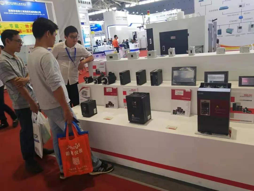 德力西变频器深圳大湾区工业博览会***落幕